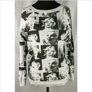 Marilyn Monroe Photo Graphic Reversible Shirt